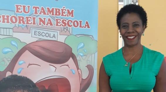 Em live, escritora narra histórias infantis em Poá