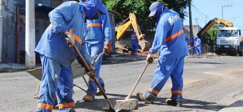 Prefeitura inicia pacote de recapeamento de 41 vias públicas