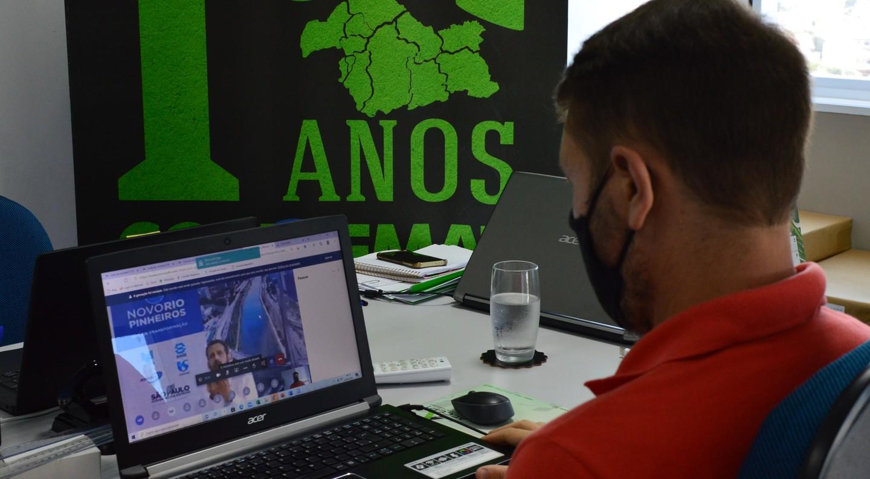 Condemat participa de webinar de gerenciamento de resíduos sólidos