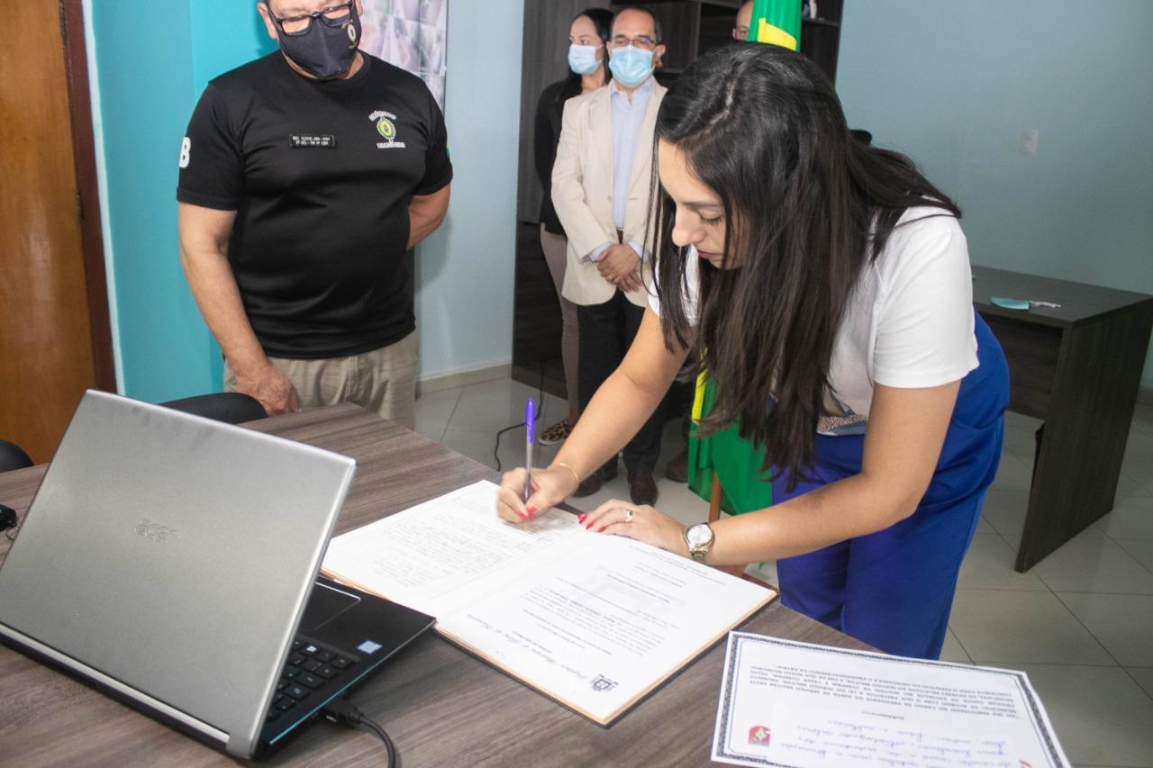 Priscila Gambale assume presidência da junta militar de Ferraz