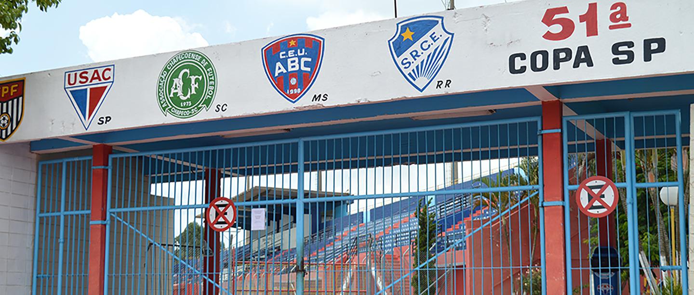 Estádio do Usac passa por revitalização e melhorias no gramado