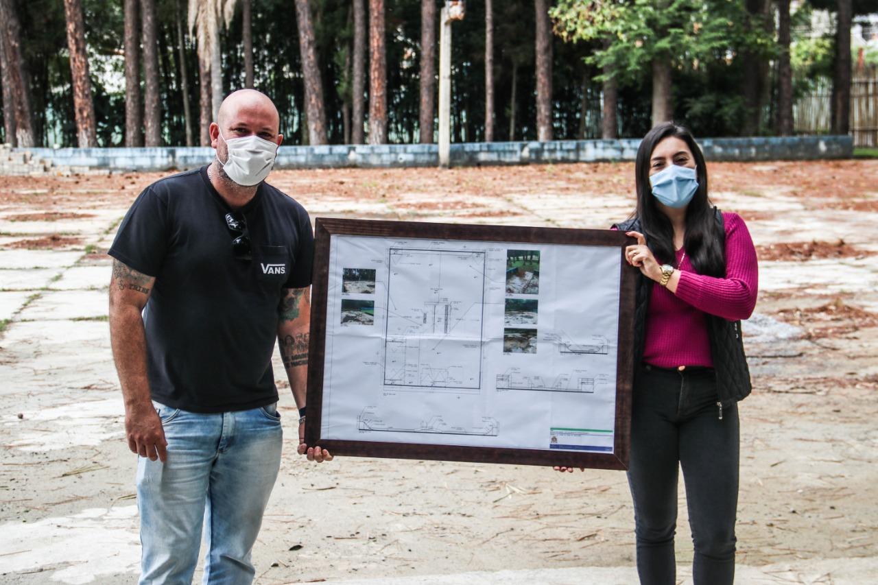 Pista de Skate do Parque Nosso Recanto começa a ser construída na segunda em Ferraz