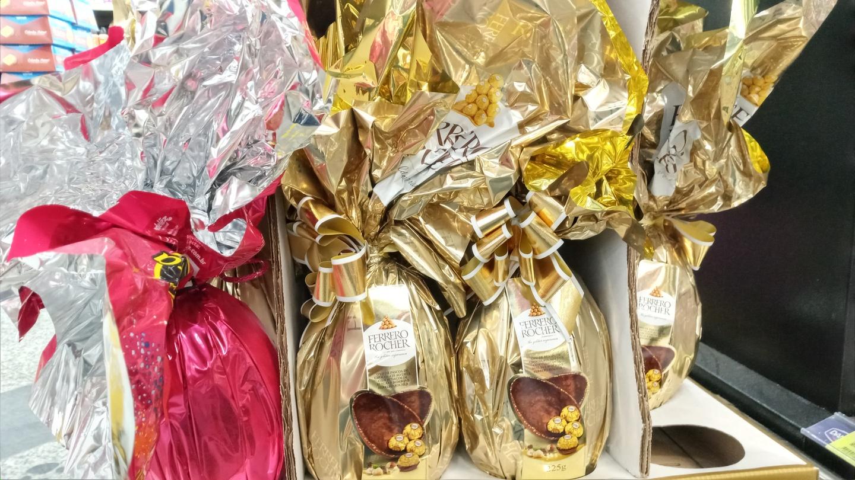 Mesmo com pandemia,  supermercados conseguem boas vendas de ovos de Páscoa