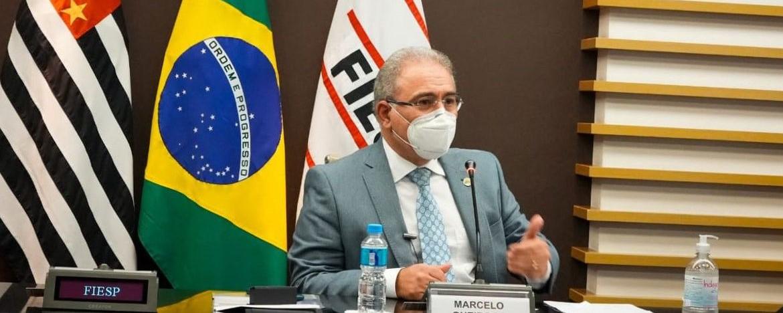 Ministro diz que é possível vacinar toda população brasileira em 2021
