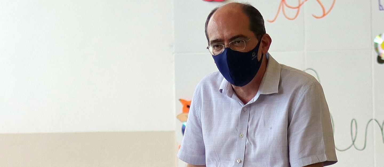 Encontros virtuais contaram com a participação do chefe da pasta de Educação suzanense, Leandro Bassini