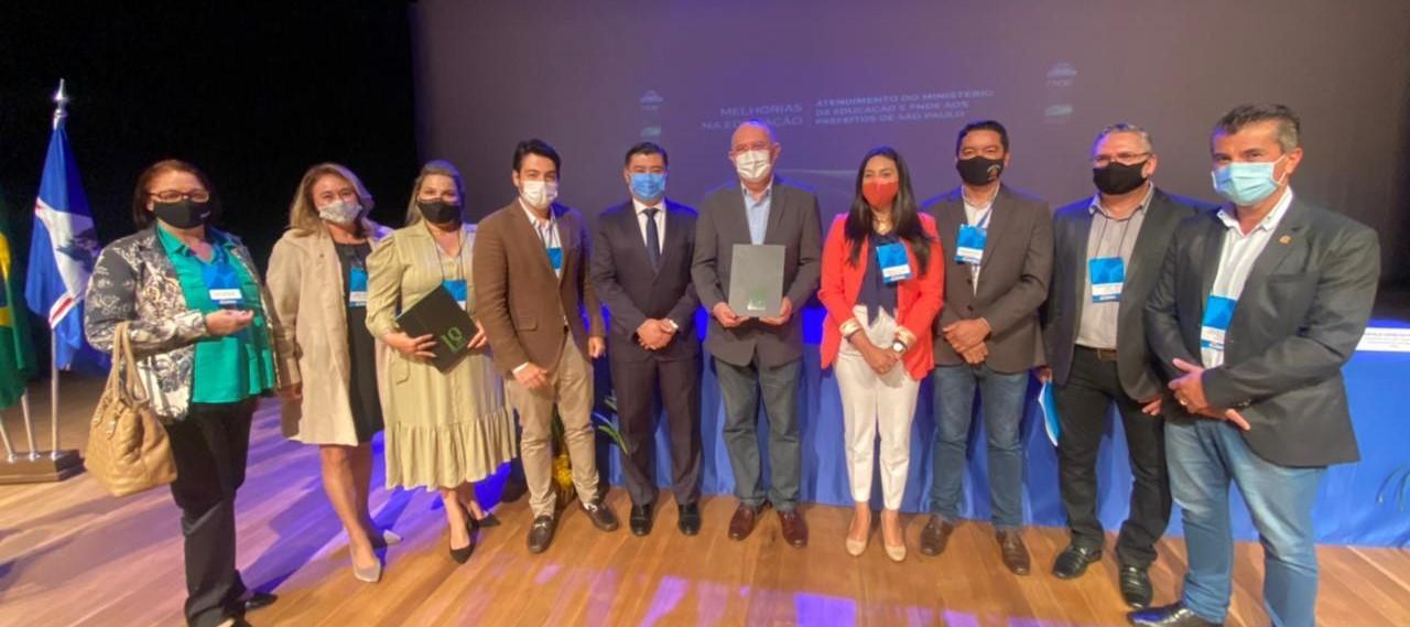 Prefeitos da região participam de reunião com ministro da Educação