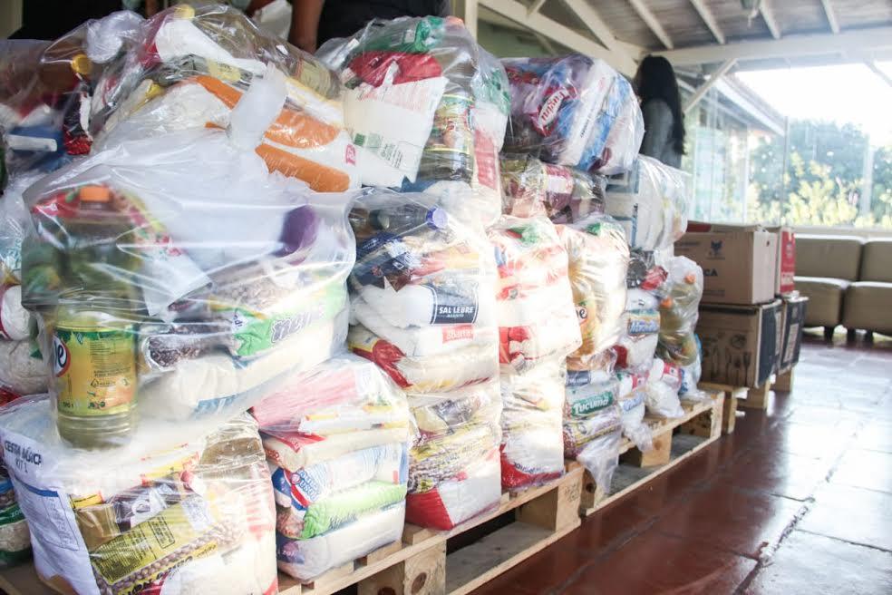 Os donativos foram arrecadados pela Delegacia Seccional de Mogi das Cruzes