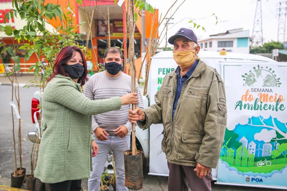 Ato faz parte da programação Junho Mais Verde, em virtude do Dia Mundial do Meio Ambiente