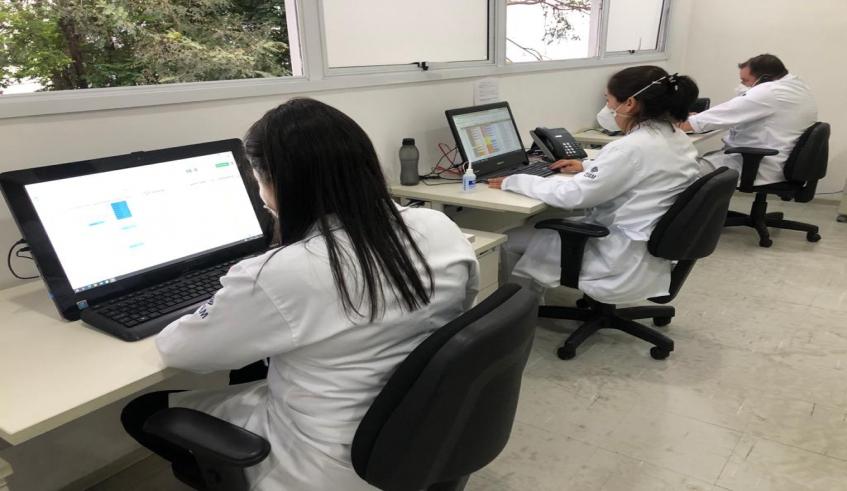 Mogi intensifica ações da central para ligar para pacientes que testaram positivo para Covid-19 na cidade; mais de 10 mil ligações são realizadas por mês