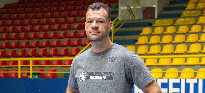 Danilo Padovani será o novo técnico do Mogi Basquete para a temporada 2021/22