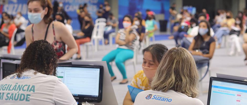 Ação será concentrada na Arena Suzano e promete 35 horas consecutivas de atendimento na vacinação