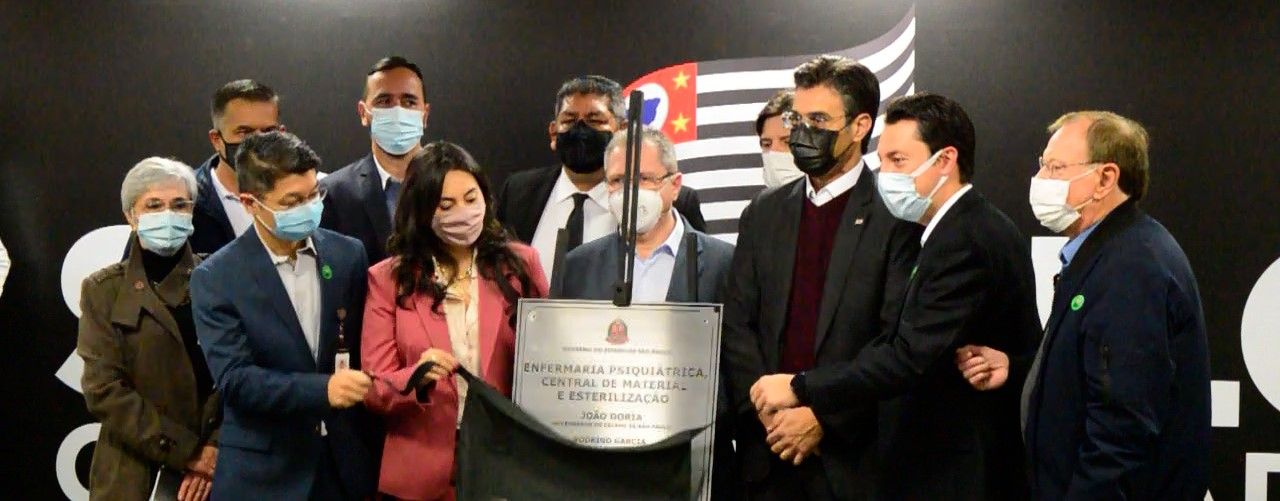 Governo inaugura ala psiquiátrica do Hospital Regional de Ferraz