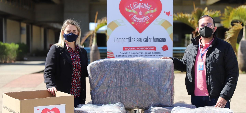 Campanha do Agasalho de Suzano recebe mais 50 cobertores