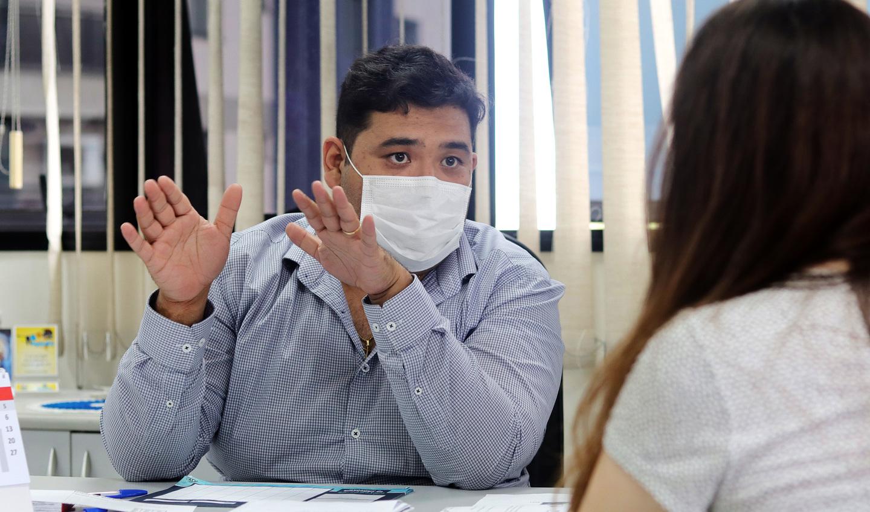 Secretário de Saúde, Pedro Ishi, destacou que, ao longo dos encontros, os agentes municipais terão contato com as vivências de cada paciente
