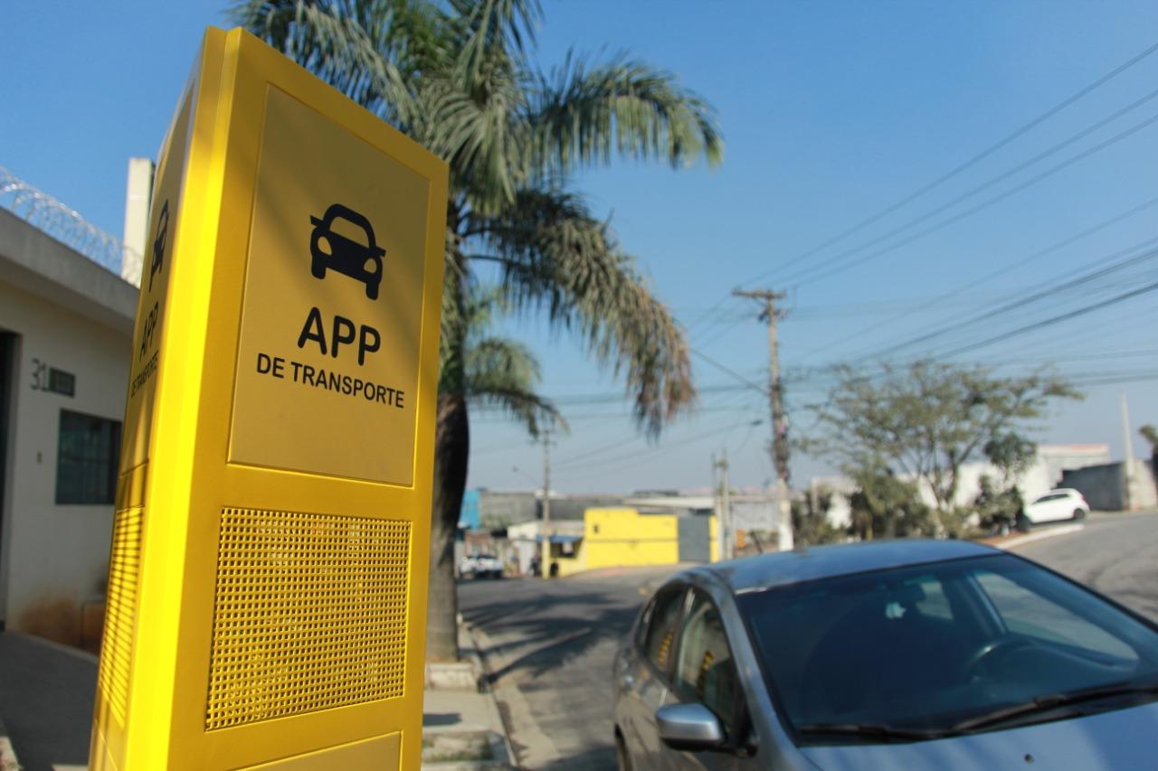 Itaquá terá cinco pontos de embarque e desembarque para motoristas de aplicativo