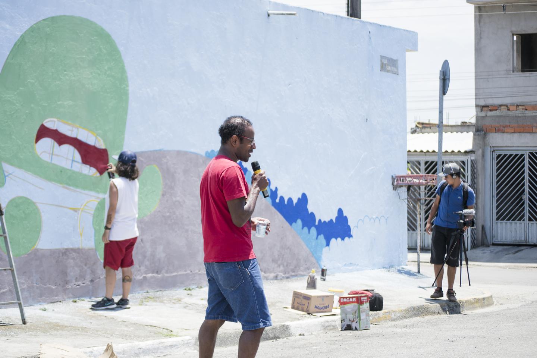 Grafite, poesia e plantio de árvores dão vida nova ao Miguel Badra