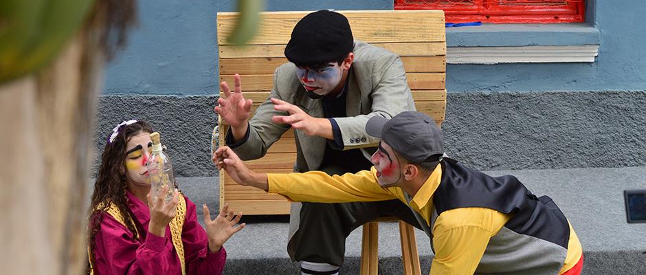 Abertura contou com apresentação teatral que relembrou a história da cidade