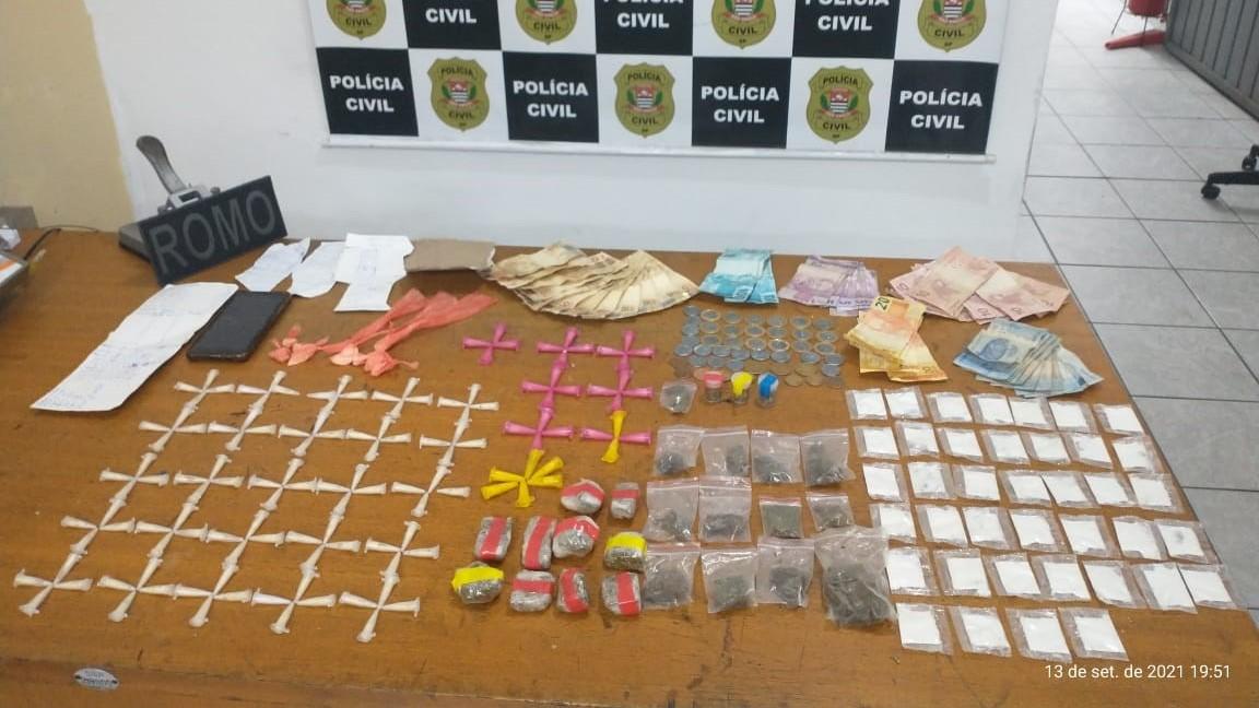 GCM apreende drogas no Jardim Colorado e impede pichação no centro