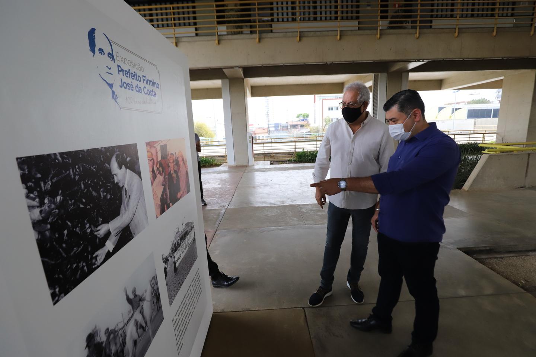 Exposição apresenta vida do ex-prefeito Firmino José da Costa