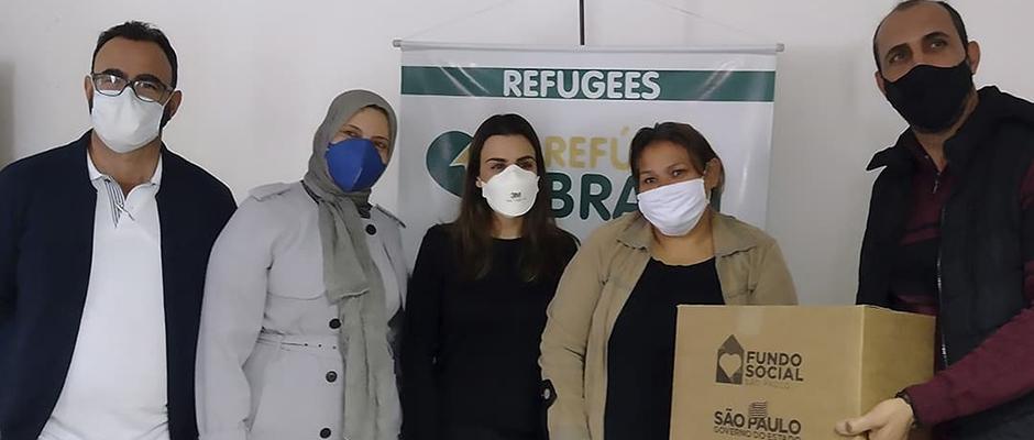 Pelo menos 20 famílias estão sendo ajudadas pela ONG Refúgio Brasil, localizada em Mogi das Cruzes