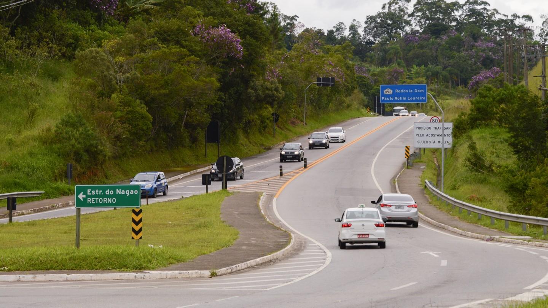 Mogi-Bertioga registra a passagem de 57.517 veículos durante o feriado prolongado