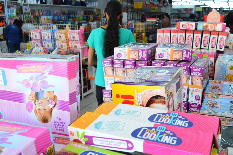 Lojistas registram saldo positivo nas vendas  do Dia das Crianças
