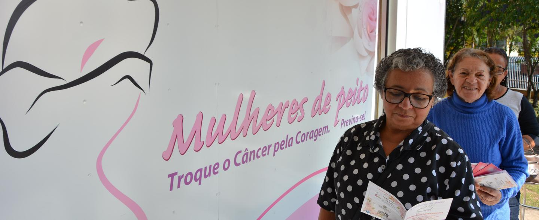 Carreta 'Mulheres de Peito' realiza atendimento em Poá até dia 12 de setembro