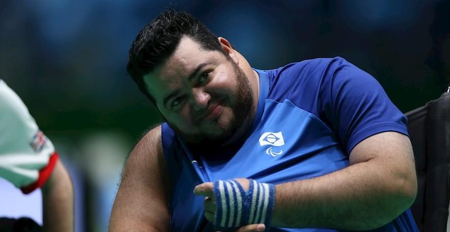 Mogiano, bicampeão paralímpico de bocha, morreu nesta quarta-feira