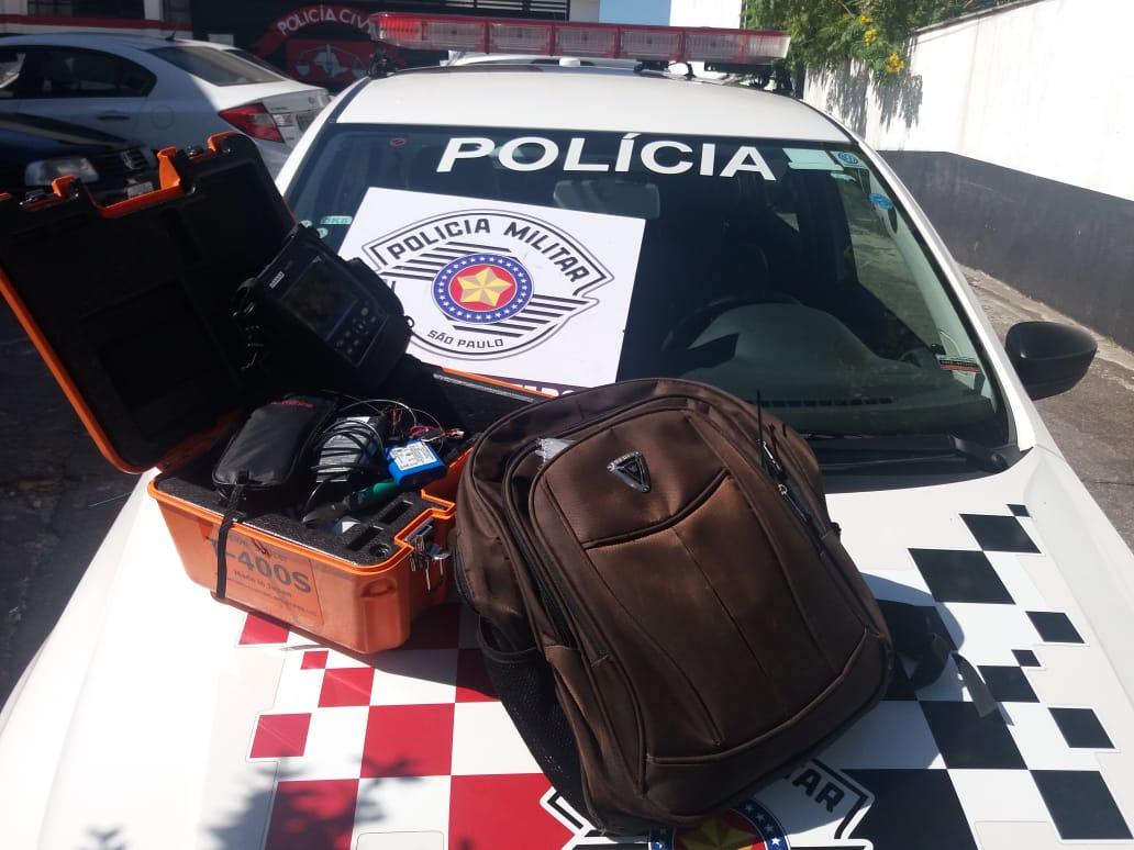Itens roubados de funcionário da Vivo foram recuperados