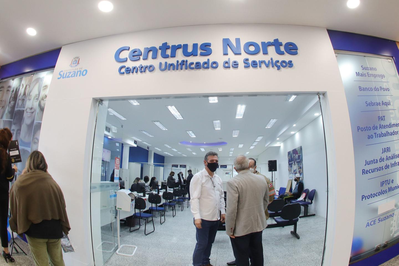 Uma das principais novidades anunciadas para o Centrus Norte, que funcionará de segunda a sexta-feira, das 8 às 17 horas, foi a criação de um posto da Companhia de Saneamento Básico do Estado de São Paulo (Sabesp), outro da Associação Comercial e Empresar
