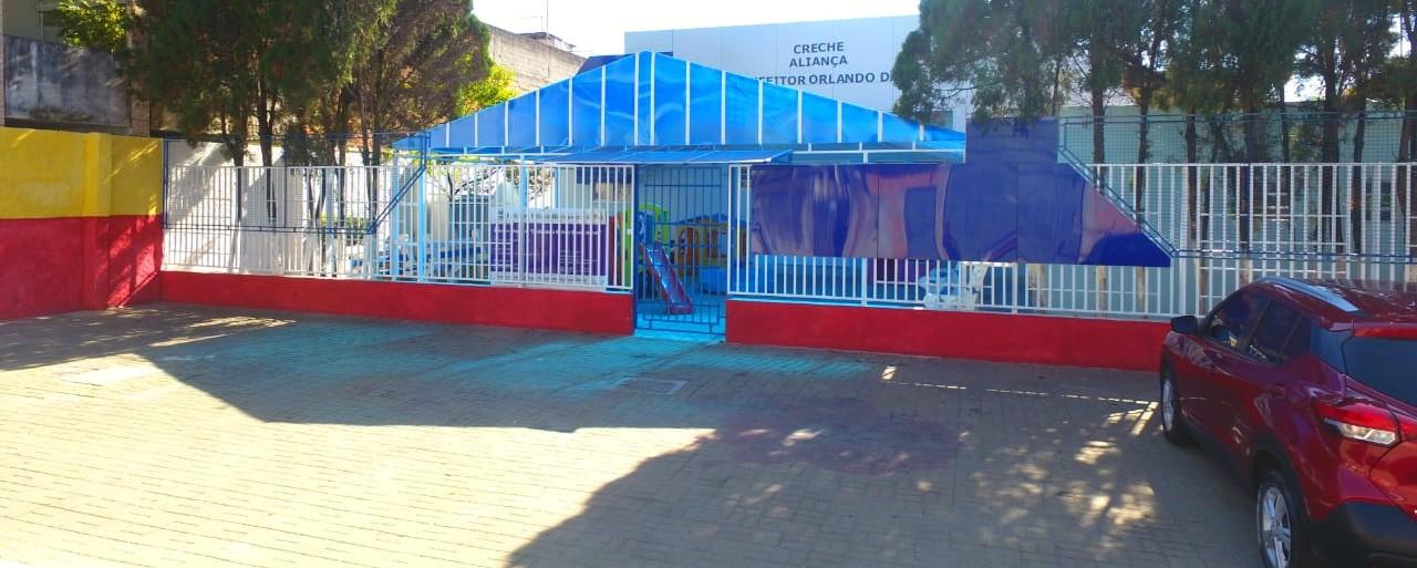 Creche Aliança Benfeitor foi revitalizada; unidade fica em Calmon Viana
