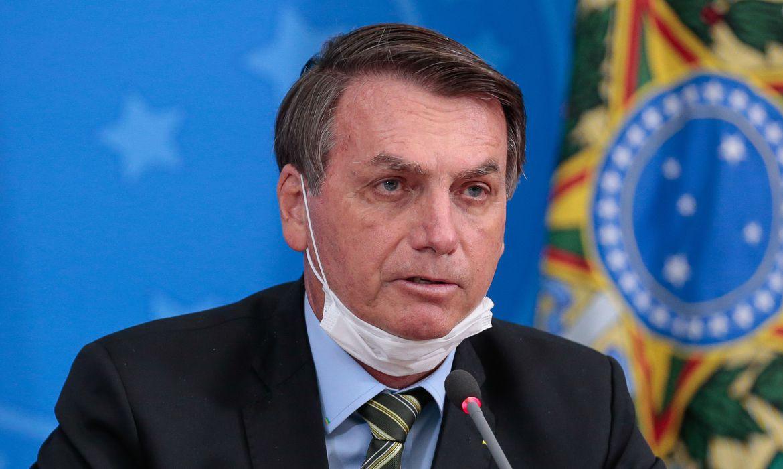 Bolsonaro anunciou ter testado positivo para a Covid-19