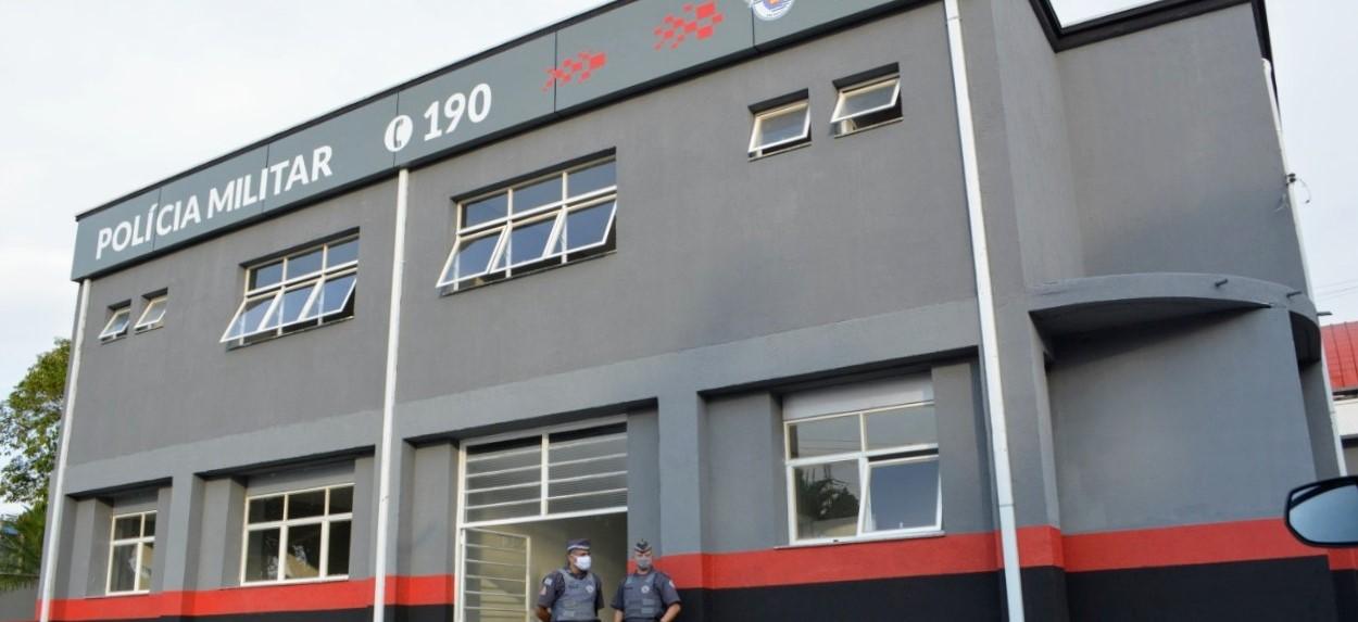 Prefeito de Poá entregou prédio  da nova sede da Companhia da Polícia Militar  do município